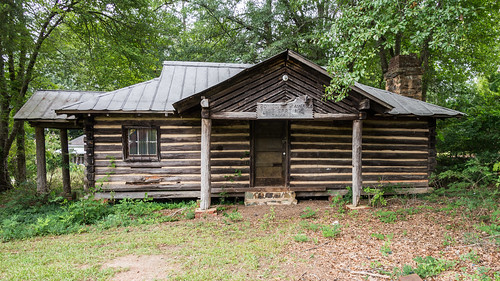 West Springs Community Center cabin