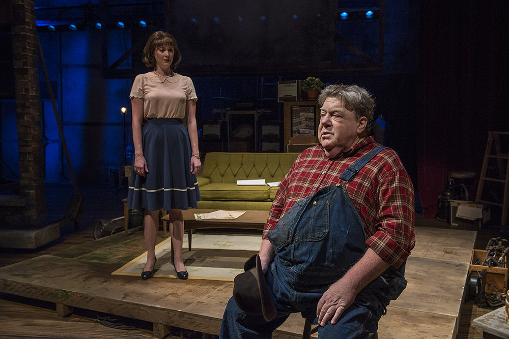 Amanda Drinkall and George Wendt