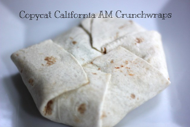 Copycat California AM Crunchwrap