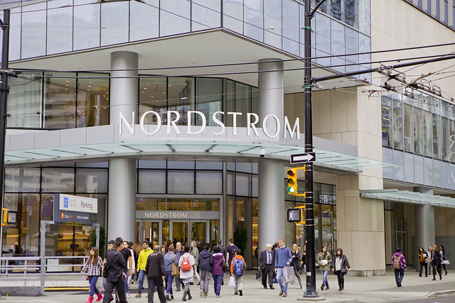 Nordstrom Pacific Centre Vancouver