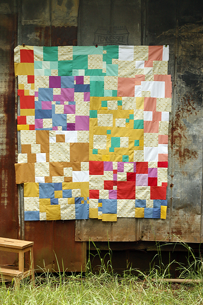 Zephyr quilt top