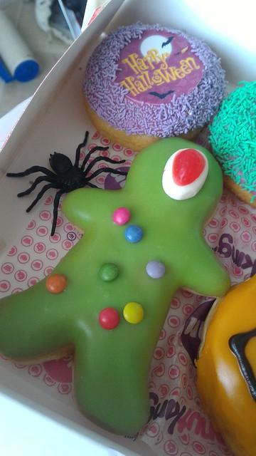 Donut King Halloween Donuts