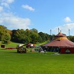 Circus tent in Preston