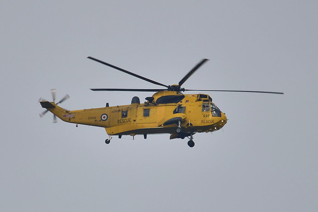ZH542 Sea King HAR.3A