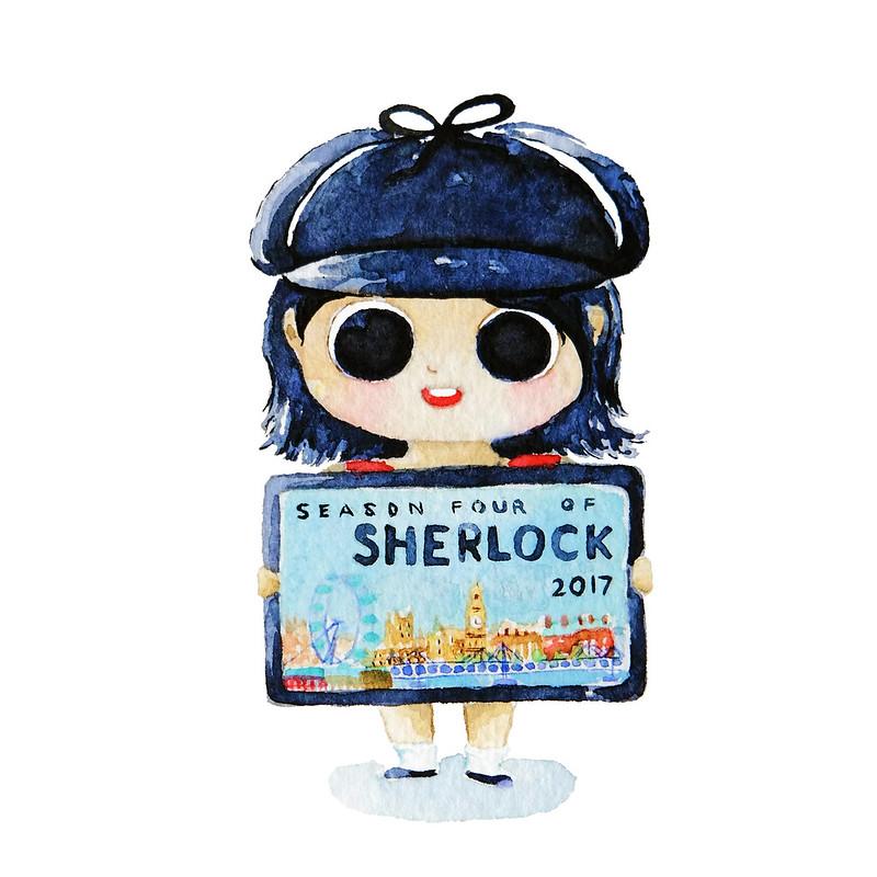 BBC Sherlock Season 4 Halloween Costume