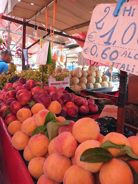 abricots à Turin