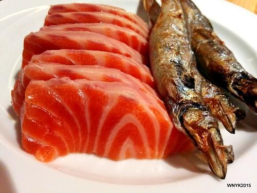 Salmon & Shishamo
