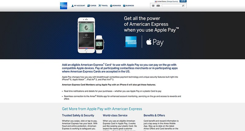 American Express - Apple Pay