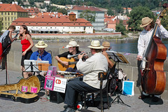 Street Musicians of Prague, Czech Republic