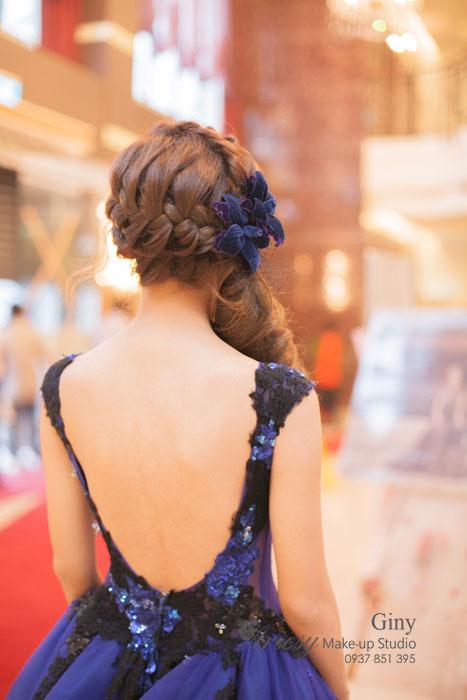 Giny,愛瑞思造型團隊,台北新娘秘書,新娘秘書,清透妝感,蓬鬆盤髮,線條盤髮,Dream婚紗工坊,韓風飾品,歐美手工飾品