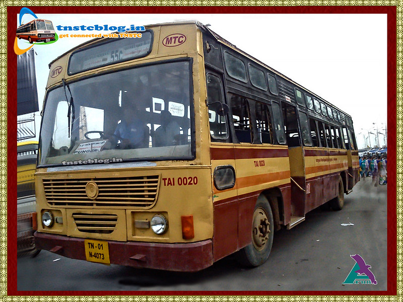 Chennai | Bus Terminals | MTC Bus | Other Road Transport Updates
