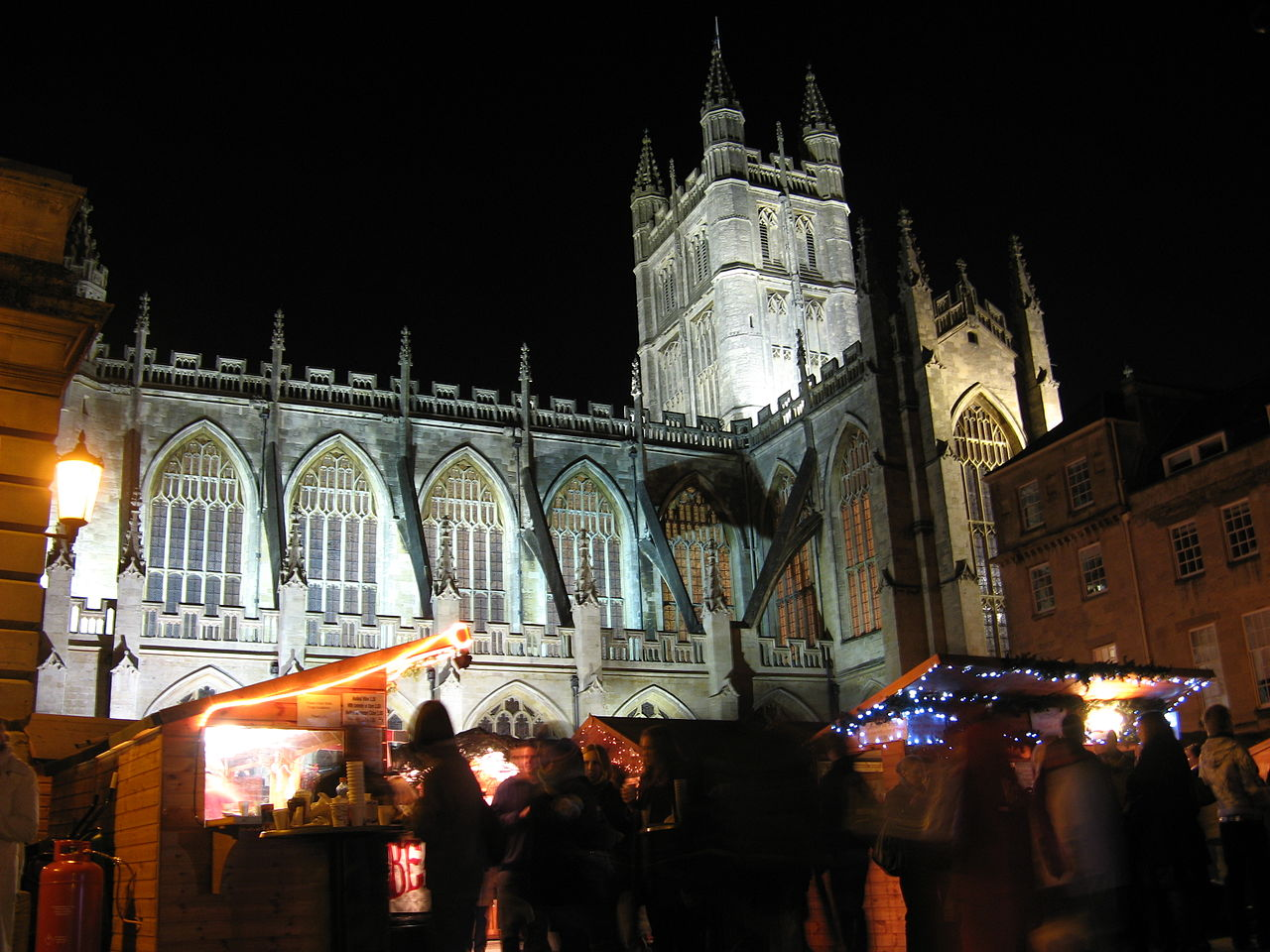 Christmas market in Bath, England. Credit Rwendland