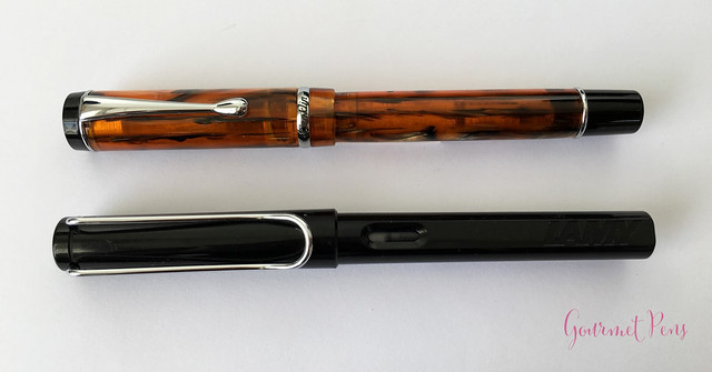 Review Conklin Duragraph Fountain Pen - 1.1 mm Stub @GouletPens (6)