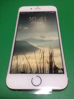 8_ iPhone6のフロントパネルガラス割れ