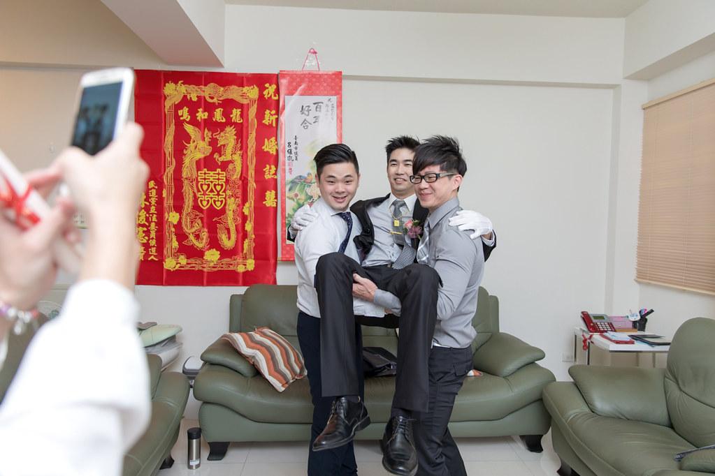 台南婚攝-迎娶午宴 X 情定城堡 (27)