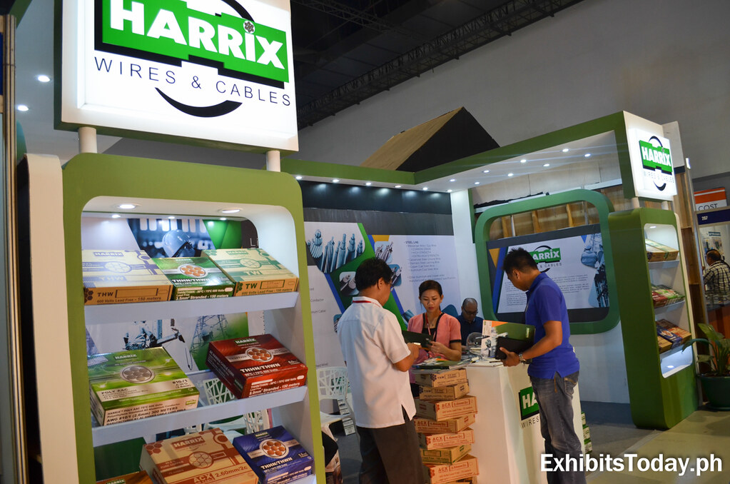 Harrix Wires & Cables Exhibit Booth