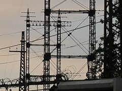 electrical towers - Bronx, NY  Aug. 2013