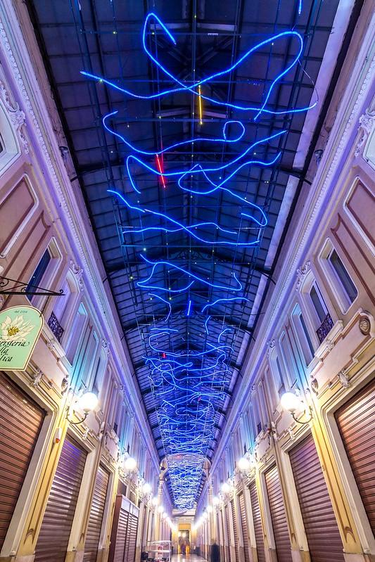 L'energia che unisce si espande nel blu - Marco Gastini
