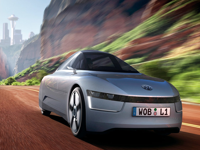 Volkswagen L1 Concept. 2009 год