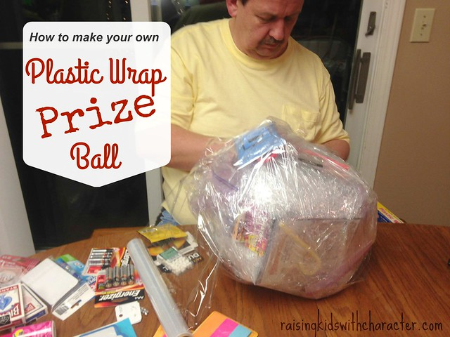 Plastic Wrap Christmas: Big Kid Fun