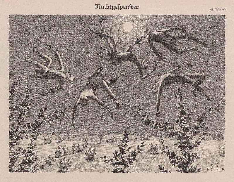 Franz Sedlacek - Ghosts, 1926