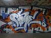 Skore graffiti, Southbank