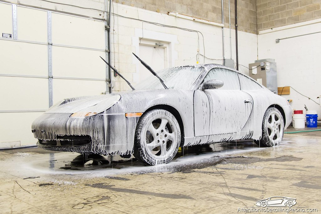 ATD | Porsche 996 - Foamed up