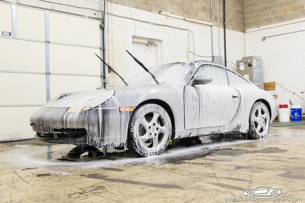 ATD | Porsche 996 - Foamed up