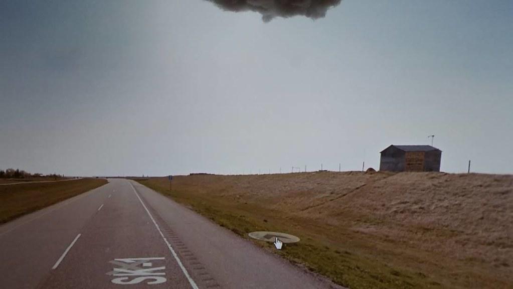 ALPACA Gift Shop <-&- MOTEL. #Herbert #Saskatchewan #ridingthroughwalls #googlestreetview #xcanadabikeride