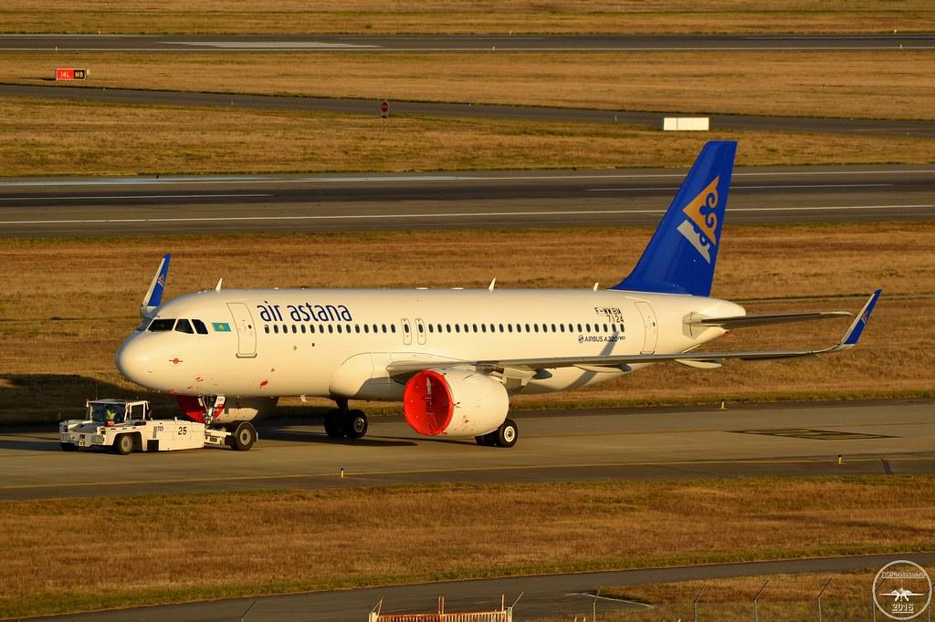 P4-KBH - A20N - Air Astana