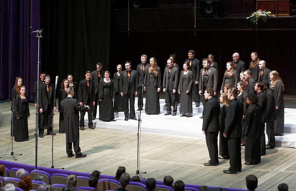 Syracuse University Singers performs in the European Grand Prix in Varna, Bulgaria