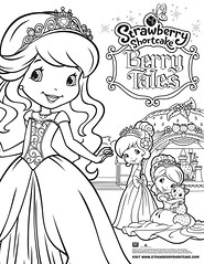 Berry Tales Coloring Sheet