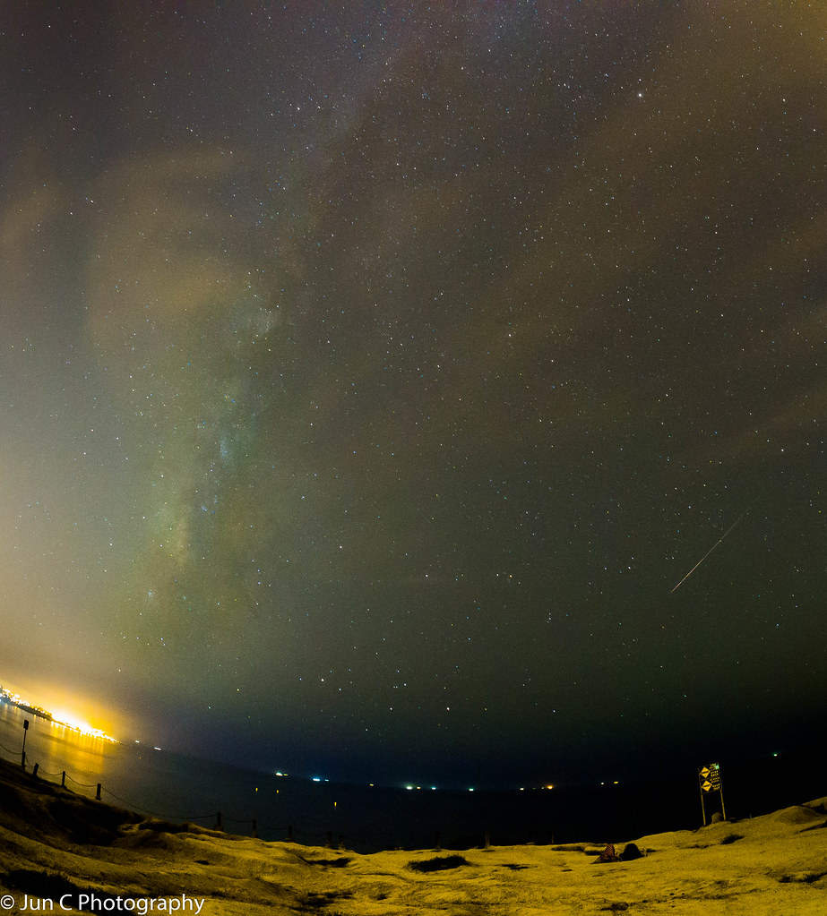 Milky Way and Perseids 2015 | Glider's Point, La Jolla, CA | Flickr