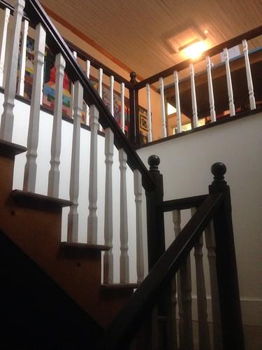 up stairway myoffice 100years columbianc pocosinarts loveoldarchitecture daviscoffieldbuilding