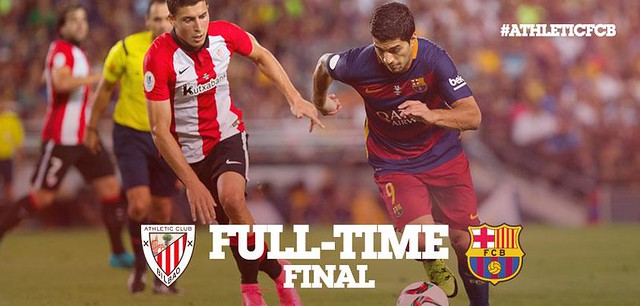 Liga BBVA (Jornada1): Athletic Club de Bilbao 0 - FC Barcelona 1