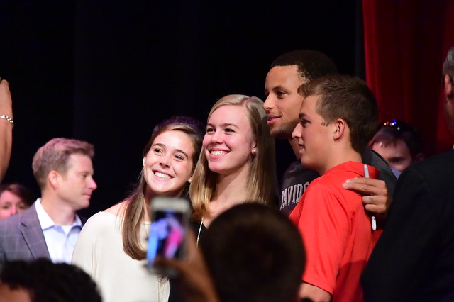 Steph Curry '10 Homecoming