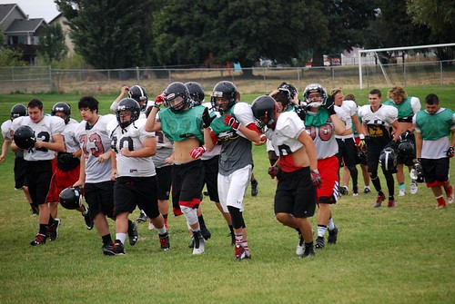 Football practice 7