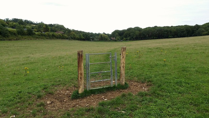 Please close the gate #sh