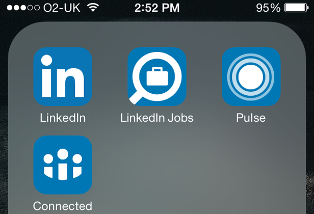 Staying connected with LinkedIn mobile apps