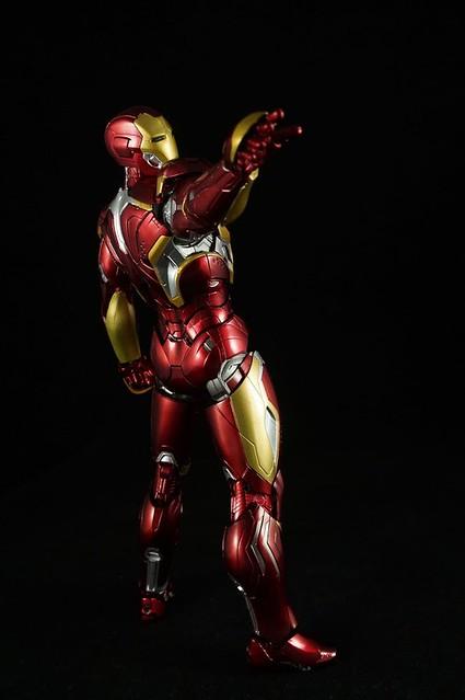 【玩具人玩具兵長投稿】SHF 鋼鐵人 MARK XLV開箱分享!