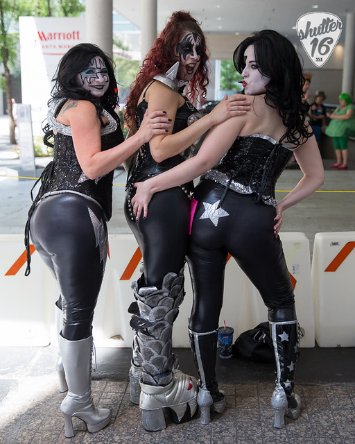 KISS cosplayers