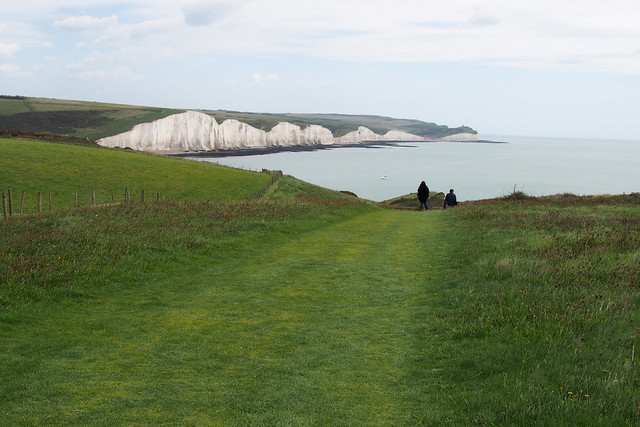 The Severn Sisters from Seaford Head