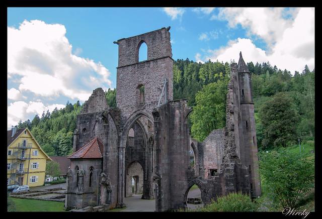 Selva Negra Lago Mummelsee Oppenau Offenburg Gengenbach - Ruinas Abadía de Todos los Santos