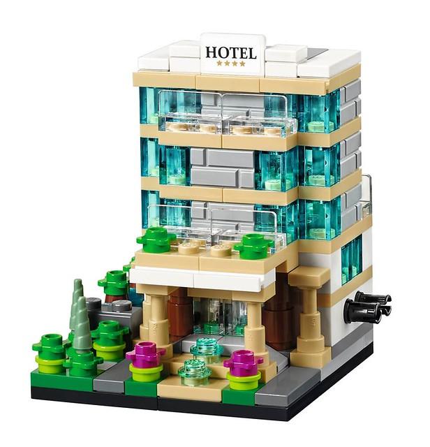 LEGO 40141 - Bricktober Hotel