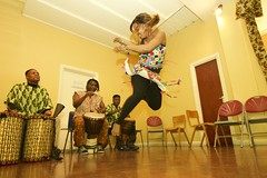 Black History Month, African Dance & Drumming