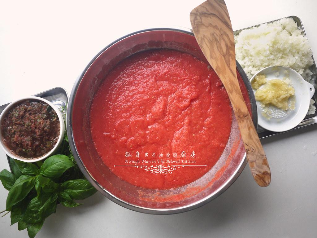 孤身廚房-義大利茄汁紅醬罐頭--自己的紅醬罐頭自己做。不求人8