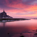Le Mont Saint-Michel au réveil - Sunrise at the Mont Saint-Michel by Luc Neuville