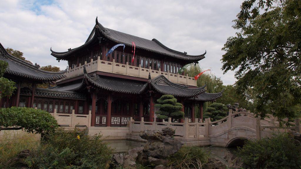 Luisenpark Mannheim: Chinesisches Teehaus