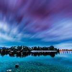 Blue hour on Jarun lake