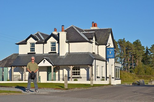 Moor of Rannoch Hotel - a fabulous spot at the end of a single track road. I recommend taking the train there.
